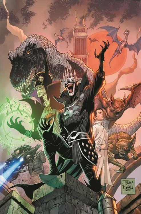 Dc comics dark nights death metal the darkest knight tpb 20210101