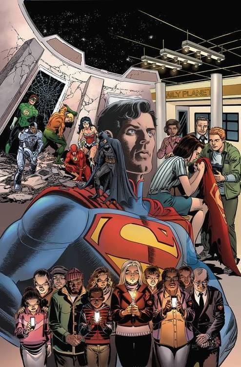 Dc comics death of superman the wake tpb 20190730