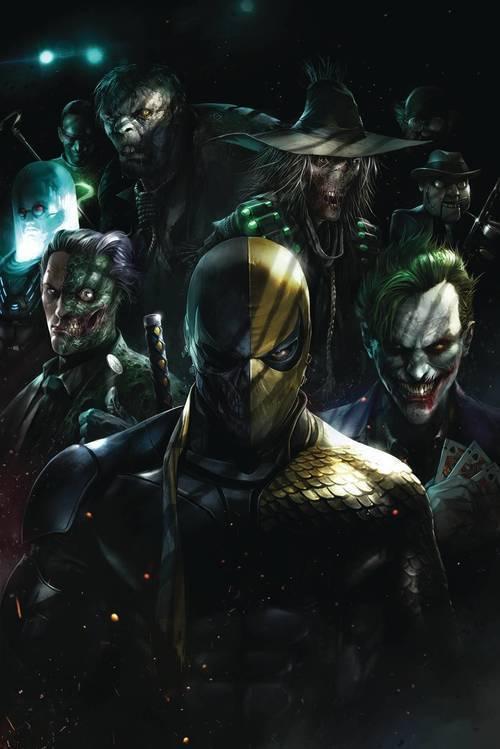 Dc comics deathstroke arkham tpb 20190529