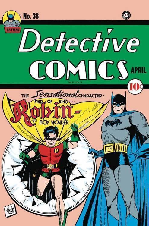Dc comics detective comics 38 facsimile edition 20191227