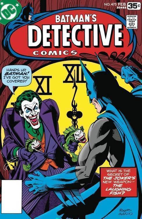 Dc comics detective comics 475 facsimile edition 20200128
