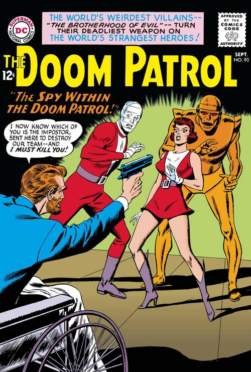 Dc comics doom patrol the silver age tpb vol 01 20180329
