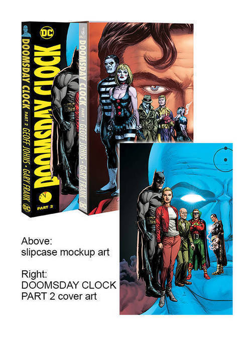 Doomsday Clock Hardcover Part 02 With Slipcase