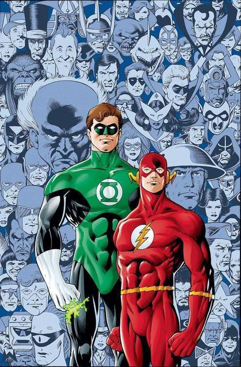 Flash Green Lantern Brave and the Bold Deluxe HC Edition