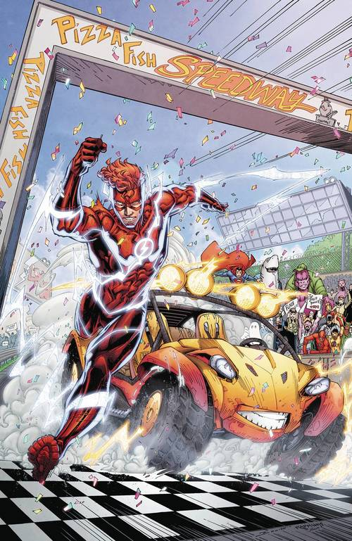 Dc comics flash speed buggy special 20180329