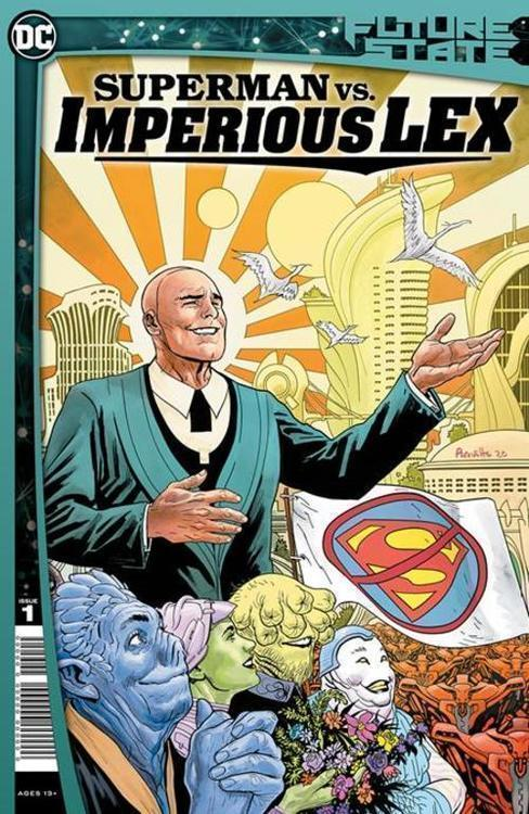 Dc comics future state superman vs imperious lex 20201028