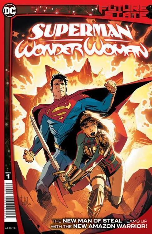 Future State Superman Wonder Woman