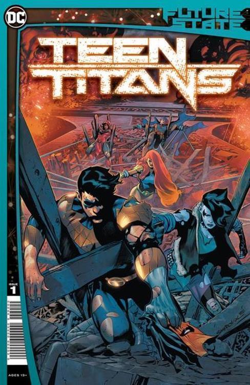 Dc comics future state teen titans 20201028