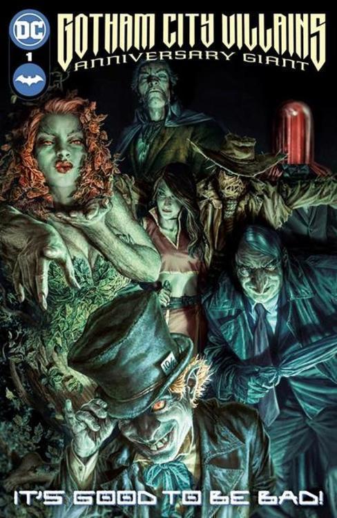 Dc comics gotham city villains anniversary giant 1 one shot 20210829