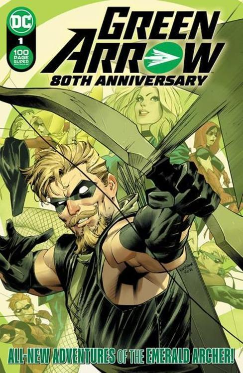 Dc comics green arrow 80th anniversary 100 page super spectacular 1 cover a dan mora 20210325