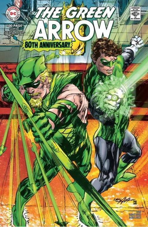 Dc comics green arrow 80th anniversary 100 page super spectacular 1 cover d neal adams 1960s variant 20210325