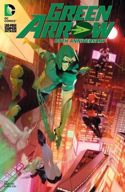 Dc comics green arrow 80th anniversary 100 page super spectacular 1 cover i simone di meo 2010s variant 20210325