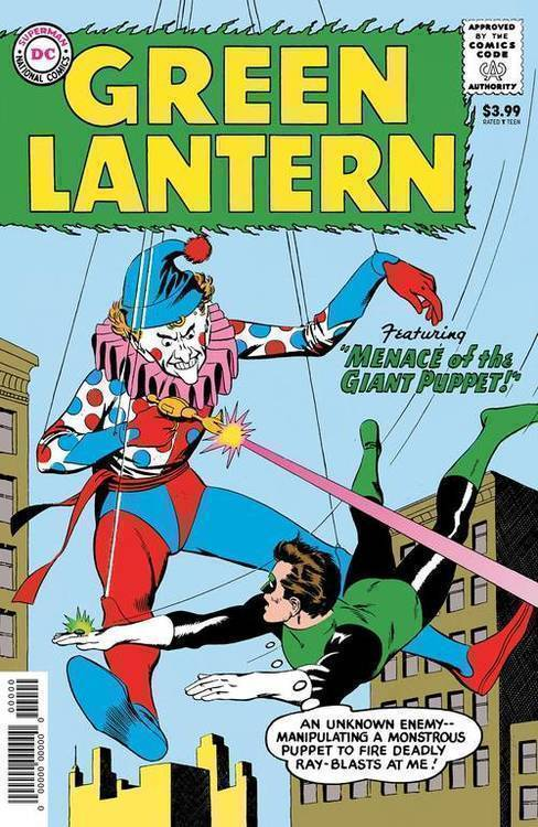 Dc comics green lantern 1 facsimile edition 20191127