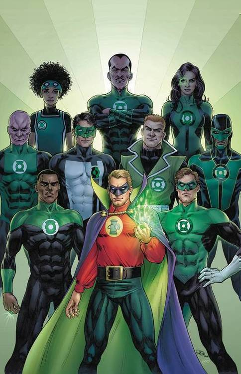 Dc comics green lantern 80th anniv 100 page super spect 1 1940s cover 20200225