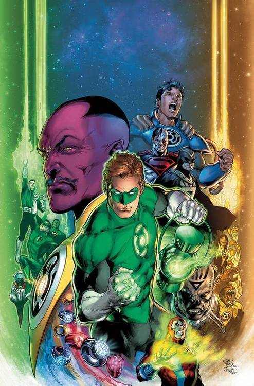 Dc comics green lantern 80th anniv 100 page super spect 1 2000s cover 20200225