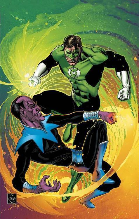 Dc comics green lantern by geoff johns tpb book 01 20181025