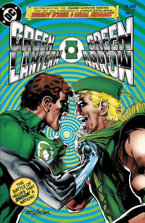 Dc comics green lantern green arrow hard traveling heroes dlx hardcover 20180302
