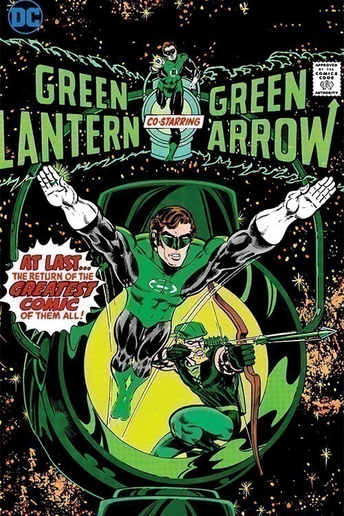 Green Lantern Green Arrow Space Traveling Heroes Hardcover