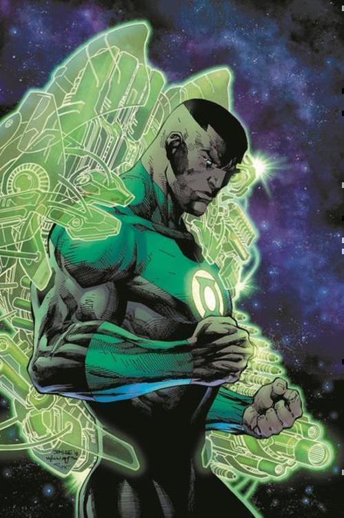 Green Lantern John Stewart A Celebration Of 50 Years Hardcover