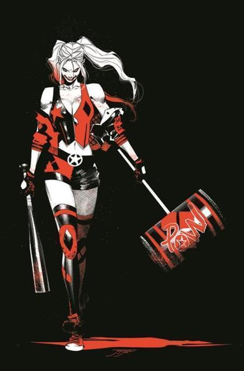 Dc comics harley quinn black white red tpb 20210126