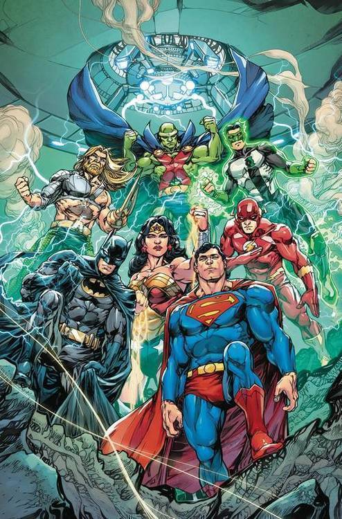 Dc comics jla new world order tpb essential edition 20181130