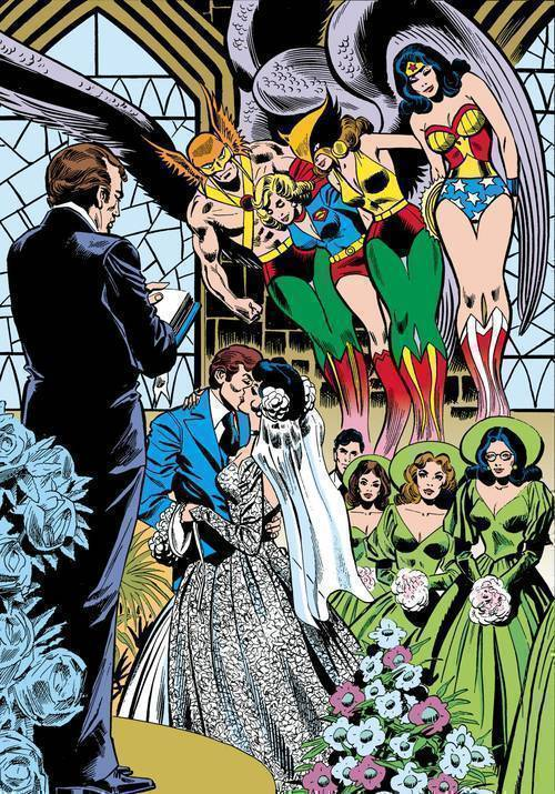 JLA The Wedding Of The Atom & Jean Loring Hardcover
