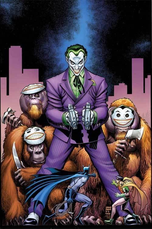 Dc comics joker adams 40s