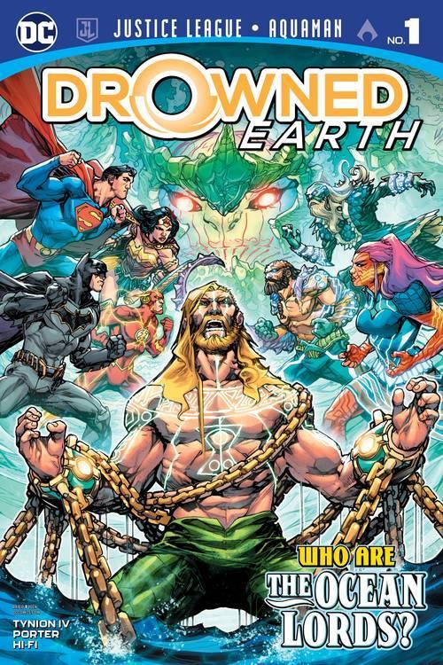 Dc comics justice league aquaman drowned earth 1 20181026 jhu comic books