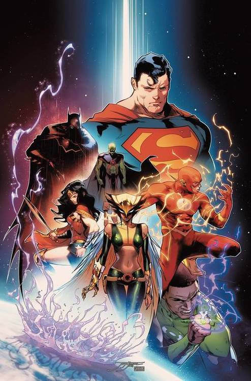 Dc comics justice league by scott snyder deluxe edition hardcover book 1 20190828