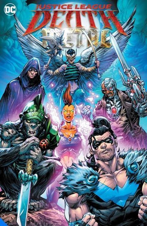 Dc comics justice league death metal tpb 20210528