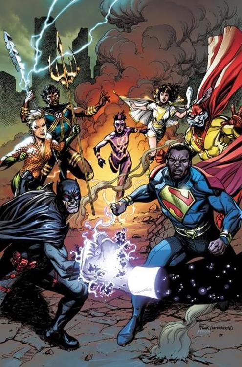 Dc comics justice league incarnate 20210829