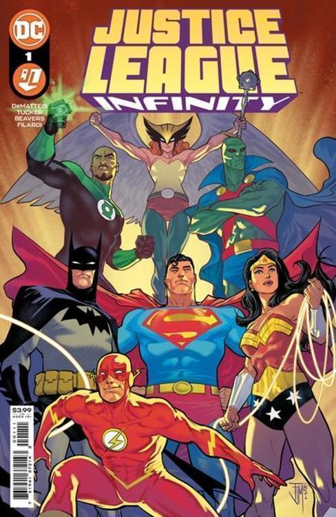 Dc comics justice league infinity 20210502
