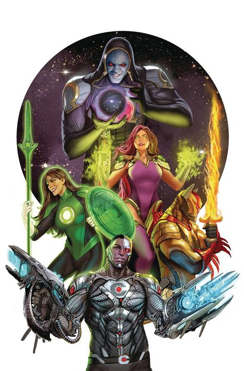 Dc comics justice league odyssey 20180430