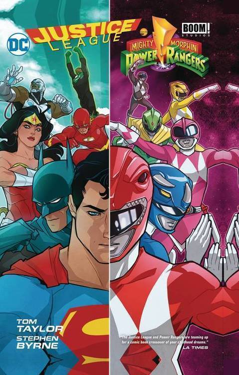 Dc comics justice league power rangers tpb 20180801