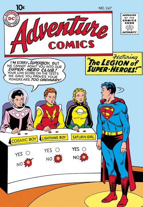 Dc comics legion of super heroes the silver age tpb volume 01 20180430