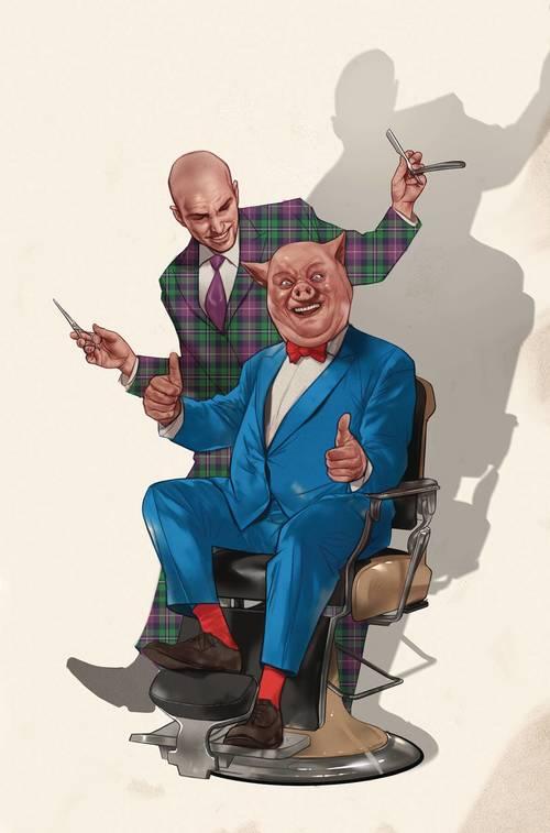 Lex Luthor Porky Pig Special