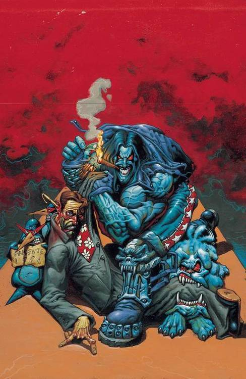 Dc comics lobo by keith giffen alan grant tpb volume 02 20180928