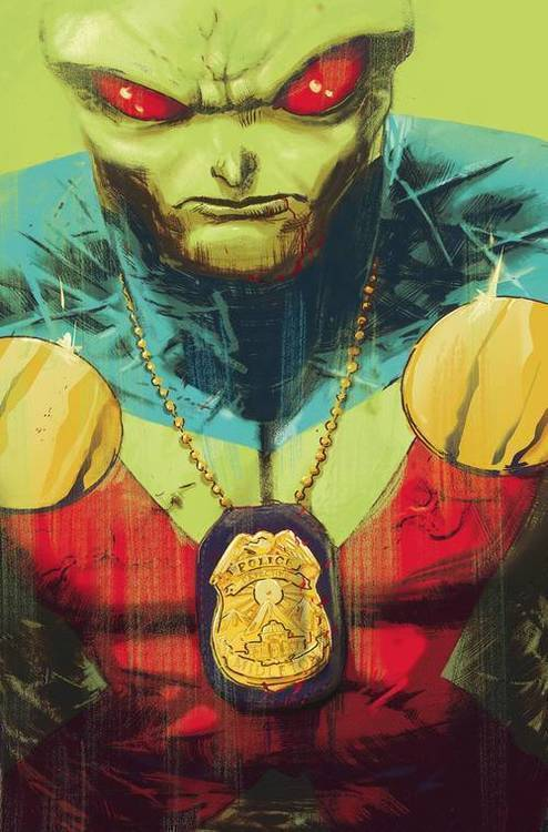 Dc comics martian manhunter 20180928