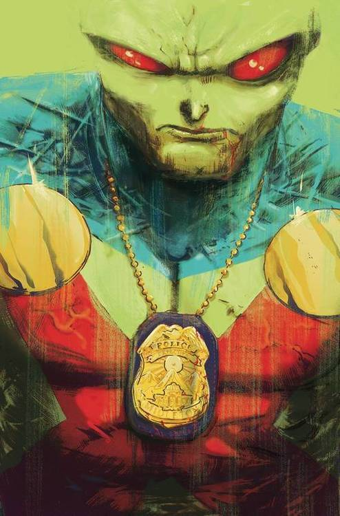 Martian Manhunter Identity TPB