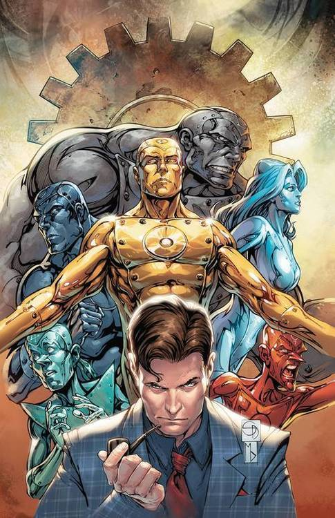 Dc comics metal men 20190730