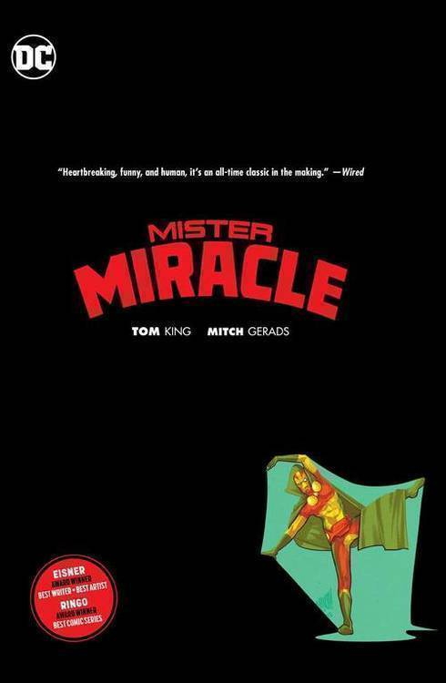 Dc comics mister miracle hardcover mature 20190327