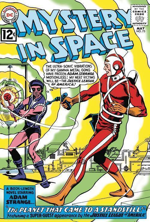 Dc comics mystery in space 75 facsimile edition 20191227