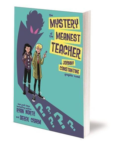 Dc comics mystery of the meanest teacher a johnny constantine graphic novel tpb 20210101