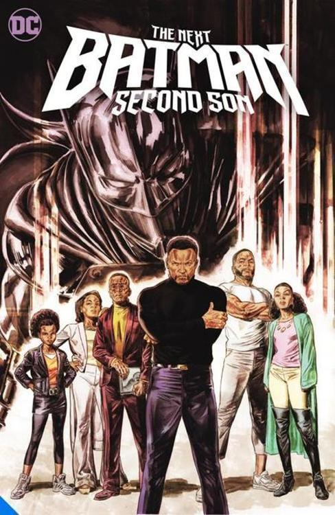 Dc comics next batman second son hardcover 20210528