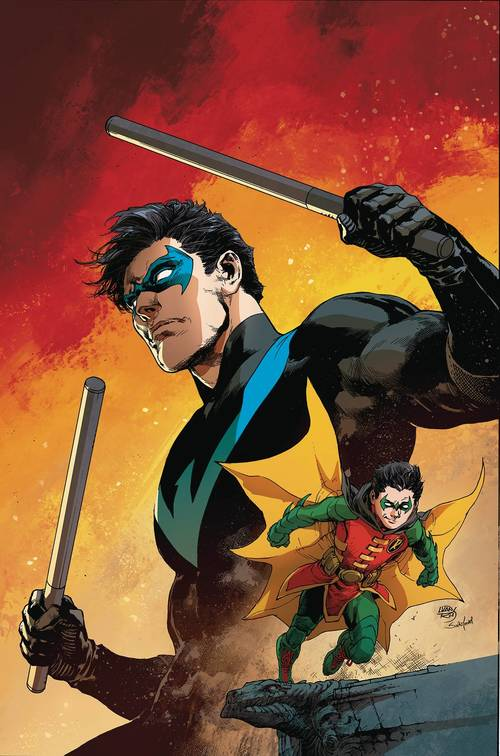 Dc comics nightwing rebirth deluxe collection hardcover book 02 20180203