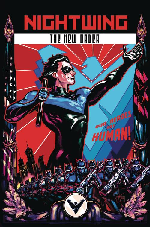 Dc comics nightwing the new order tpb 20180203