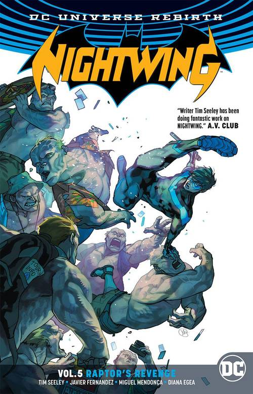 Dc comics nightwing tpb vol 05 raptors revenge rebirth 20171231