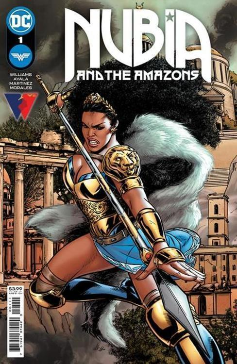 Dc comics nubia and the amazons 20210728