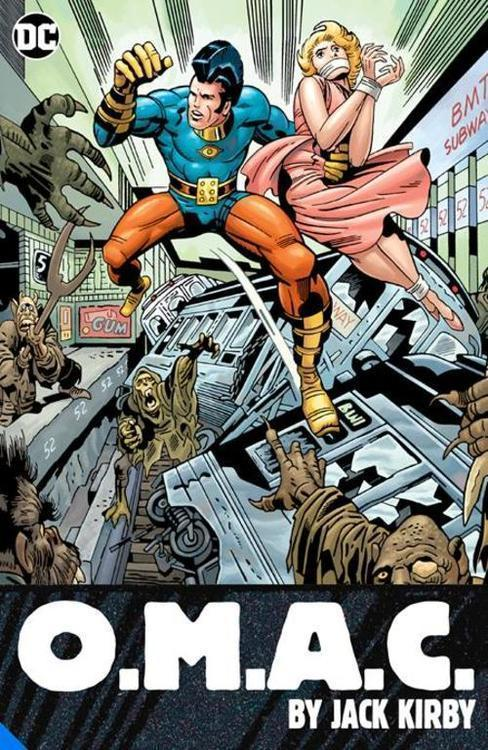 Dc comics omac one man army corps by jack kirby tpb 20210325