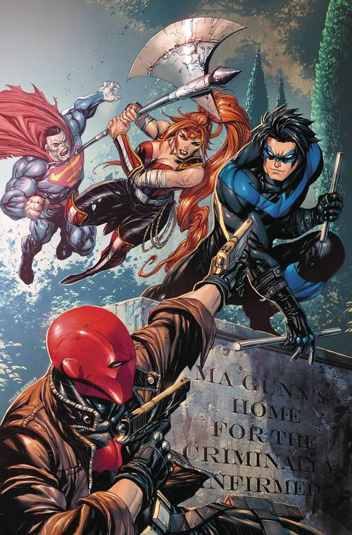 Dc comics red hood the outlaws tp vol 03 bizarro reborn rebirth 20180103
